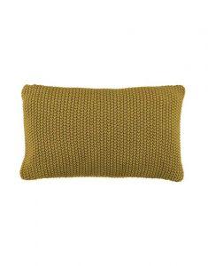 Marc O'Polo Nordic knit Oil Yellow Dekokissen 30 x 60 cm