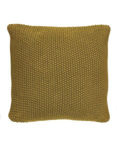 Marc O'Polo Nordic knit Oil Yellow Dekokissen 50 x 50 cm