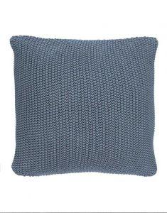 Marc O'Polo Nordic knit Smoke Blue Dekokissen 50 x 50 cm