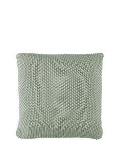 Marc O'Polo Nordic knit Garden green Sierkussen 50 x 50 cm