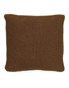 Marc O'Polo Nordic knit Toffee Brown Sierkussen 50 x 50 cm