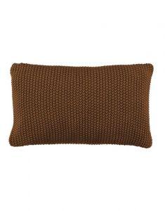 Marc O'Polo Nordic knit Toffee Brown Sierkussen 30 x 60 cm
