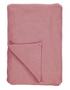 Marc O'Polo Nordic knit Ash Rose Plaid 130 x 170 cm