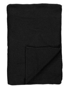 Marc O'Polo Nordic knit Black Plaid 130 x 170 cm