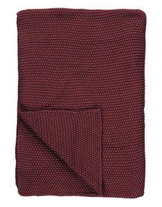 Marc O'Polo Nordic knit Warm Earth Plaid 130 x 170 cm