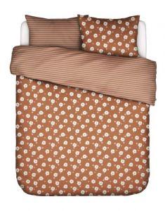 Covers & Co Oopsie Diasy Hazelnootbruin Dekbedovertrekset 200 x 220 cm