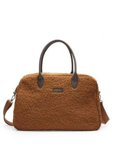 ESSENZA Pebbles Teddy Leather brown Weekendtas One Size