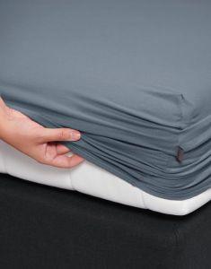 ESSENZA Premium Jersey Denim Spannbettlaken 180-200 x 200-220 cm