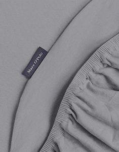 Marc O'Polo Premium Organic Jersey Grijs Hoeslaken 180-200 x 200-220 cm