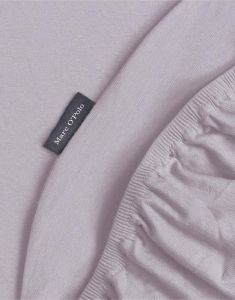 Marc O'Polo Premium Organic Jersey Lavender Mist Hoeslaken 90-100 x 200-220 cm