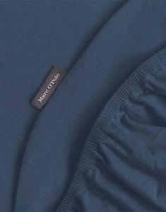 Marc O'Polo Premium Organic Jersey Navy Hoeslaken 180-200 x 200-220 cm
