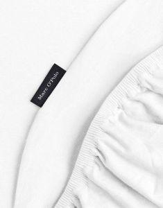 Marc O'Polo Premium Organic Jersey Wit Hoeslaken 140-160 x 200-220 cm
