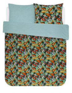 Covers & Co Riva Groen Dekbedovertrekset 200 x 220 cm