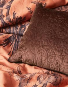 ESSENZA Roeby Chocolate Dekokissen 30 x 50 cm