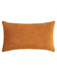 ESSENZA Roeby Leather Brown Dekokissen 30 x 50 cm