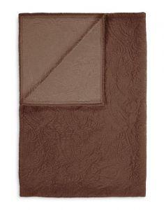 ESSENZA Roeby Chocolate Plaid 135 x 170 cm