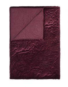 ESSENZA Roeby Burgundy Tagesdecke 180 x 265 cm
