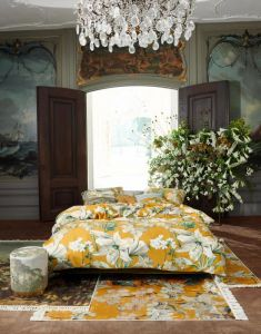 ESSENZA Rosalee Mosterdgeel Dekbedovertrekset 140 x 220 cm