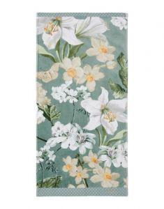 ESSENZA Rosalee Groen Handdoek 55 x 100 cm