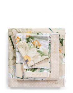 ESSENZA Rosalee Natural Handdoek 55 x 100 cm