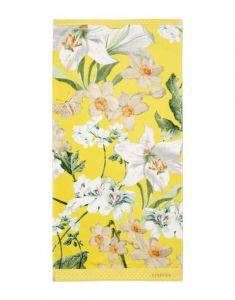 ESSENZA Rosalee Geel Handdoek 55 x 100 cm