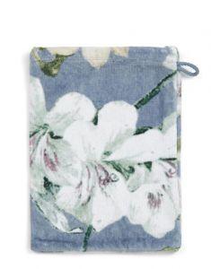ESSENZA Rosalee Blauw Washand 16 x 22 cm