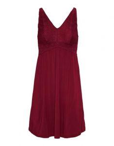 ESSENZA Sarah Uni Rot Nachthemd XS
