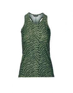 ESSENZA Sari Belen Forest green Top mouwloos S