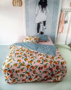 Covers & Co Squeeze the Day Rose Dekbedovertrekset 240 x 220 cm