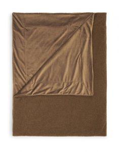 ESSENZA Teddy Cafe Noir Plaid 150 x 200 cm