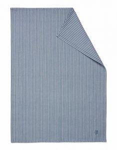 Marc O'Polo Tentstra Smoke Blue Geschirrtuch 50 x 70 cm