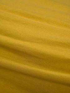 ESSENZA The Perfect Organic Jersey Mosterdgeel Hoeslaken 180-200 x 200-220 cm