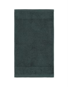 Marc O'Polo Timeless Uni Pine Green Gästetuch 30 x 50 cm
