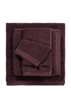 Marc O'Polo Timeless Uni Aubergine Handdoek 50 x 100 cm