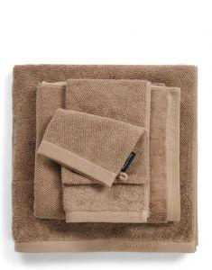 Marc O'Polo Timeless Uni Clay Handtuch 70 x 140 cm
