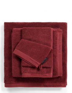 Marc O'Polo Timeless Uni Warm Red Handtuch 70 x 140 cm