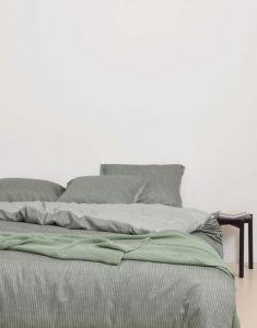 Marc O'Polo Toloma Groen Dekbedovertrekset 200 x 220 cm