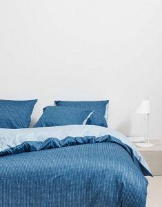 Marc O'Polo Toloma Nordic blue Dekbedovertrekset 140 x 220 cm