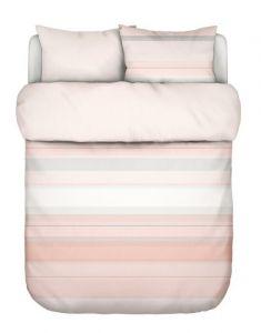 Marc O'Polo Vaja Coral pink Dekbedovertrekset 240 x 220 cm