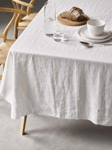 Marc O'Polo Valka Wit Tafelkleed 150 x 350 cm
