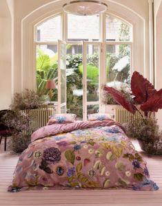 ESSENZA Veronique Woodrose Dekbedovertrekset 200 x 220 cm