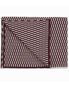 Marc O'Polo Yara Plum Plaid 130 x 170 cm