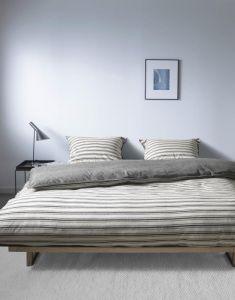 Marc O'Polo Zayla Krijt Dekbedovertrekset 140 x 220 cm