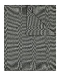 Marc O'Polo Zil Groen Plaid 130 x 170 cm