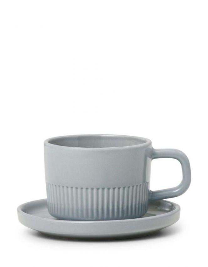 Marc O'Polo Moments Lichtgrijs Espresso kop & schotel 10 cl