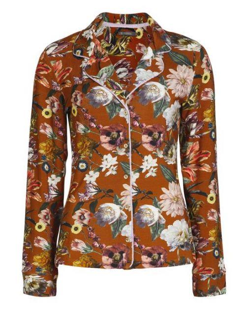 ESSENZA Fenna Filou Leather Brown Pyjama S