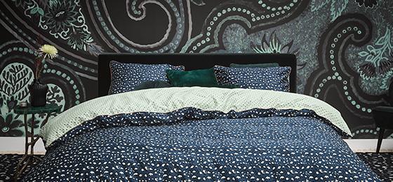 Blauw Wit Dekbedovertrek.Kwalitatieve Dekbedovertrekken Met Elegante Prints Essenza Home
