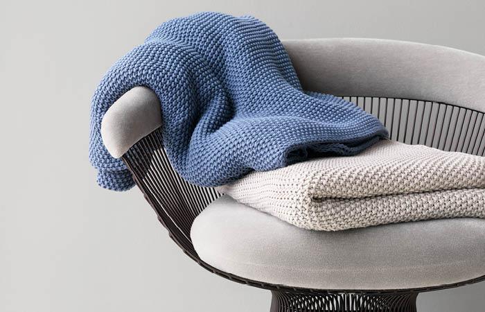 Marc O'Polo Nordic knit Plaid