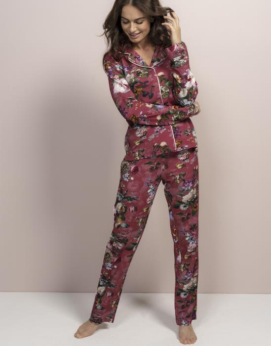 ESSENZA Fleur Pyjama Rood