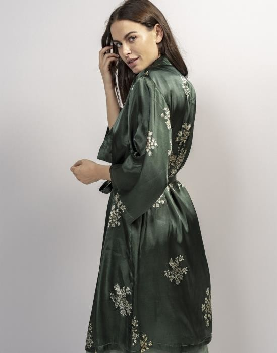 ESSENZA Sarai Kimono Groen